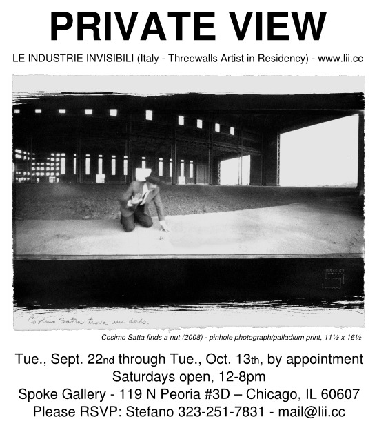 PRIVATE VIEW -  Threewalls, Chicago