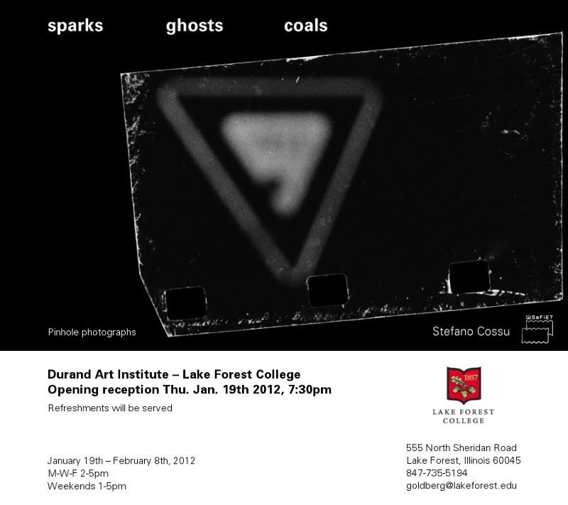 sparks ghosts coals – Lake Forest College, IL